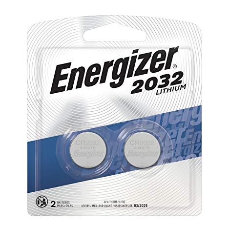 Energizer Watch/Electronic Battery (2032), 3 Volt, 2 ct (Energizer 2032bp 4 3 Volt Lithium Coin Battery)
