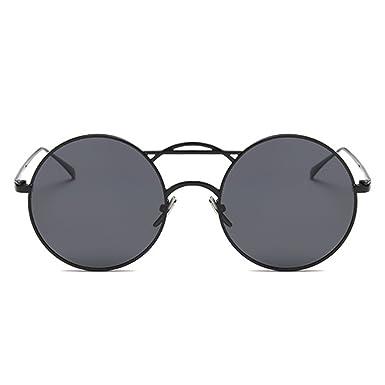 XGLASSMAKER Gafas De Sol Polarizadas, Gafas De Sol Redondas ...