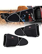 KEMIMOTO RZR Side Door Bags, UTV Side Storage Bag Set with Knee Pad for 2014-2019 Polaris RZR XP Turbo Turbo S 1000 S900