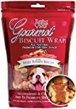 Loving Pets All Natural Premium Sweet Potato Biscuit and Chicken Wraps with Glucosamine and Chondroitin Dog Treats, 8 oz, My Pet Supplies