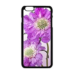 Personalized Creative Cell Phone Case For iPhone 6 Plus,glam purple flowers elegant design by runtopwellby Maris's Diary