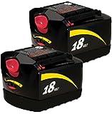Skil 18V 1.2Ah Ni-cad Battery SB18A (2 Pack) # 2607335545-2pk