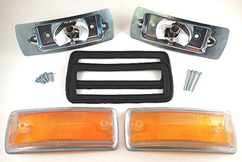 ISP West Type 2 Baywindow 1968-1972 Turn Signal Lens Bulb Holder and Seal Kit