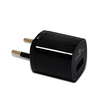 Amkette USB Wall Charger with Micro USB Charging Cable