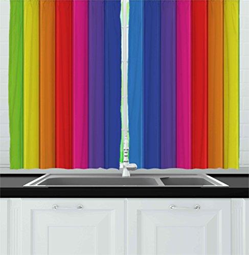 bright kitchen curtains - 2