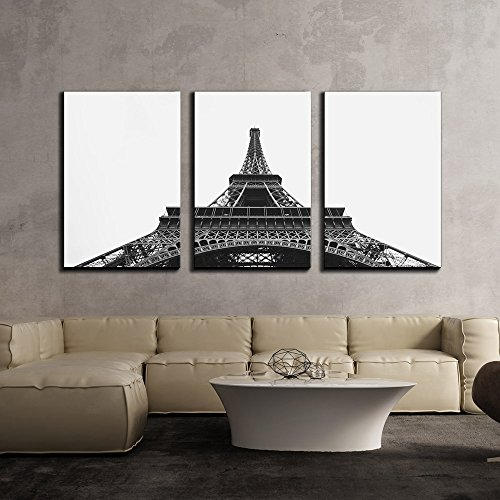 Eiffel Tower on The Champ De Mars in Paris France x3 Panels
