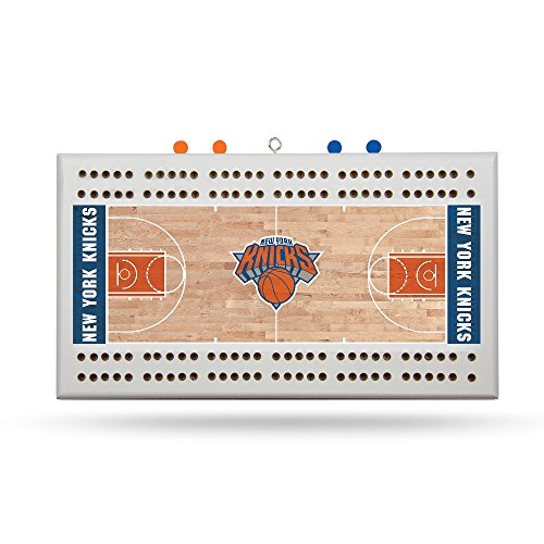 Rico New York Knicks NBA Licensed 2 Track Cribbage Board by Rico