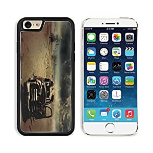 Machine Iron Rust Desert Sky Apple iPhone 6 TPU Snap Cover Premium Aluminium Design Back Plate Case Customized Made to Order Support Ready Liil iPhone_6 Professional Case Touch Accessories Graphic Covers Designed Model Sleeve HD Template Wallpaper Photo Jacket Wifi Luxury Protector Wireless Cellphone Cell Phone