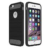 Simpeak Compatible para Funda iPhone 6s iPhone 6, Negro Silicona Fundas para iPhone 6 Carcasa para Apple iPhone 6 Funda Case(4,7 Pulgadas)