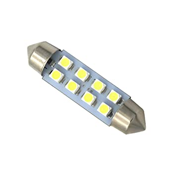 WEPECULIOR 10 unids Blanco Canbus Adorno Luces LED 39mm C5W C10W ...
