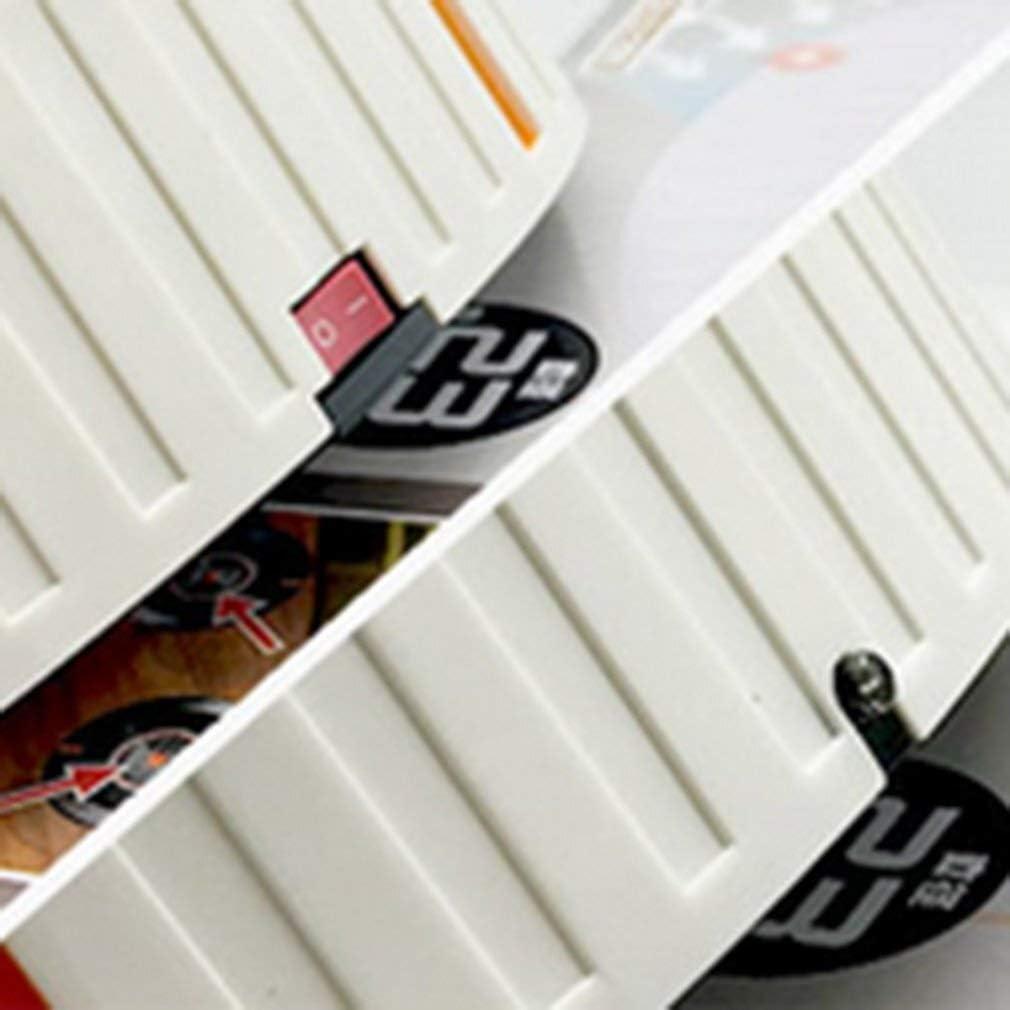 XXFFD Accueil Auto Cleaner Robot Microfibre Intelligent robotique Mop Corners Nettoyant for Plancher poussière Balayeuse Aspirateur (Color : White) Black