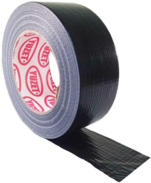 3 X Black Gaffer Gaffa Duck Duct Cloth Tape 50mm x 50m ***S LOWEST PRICE***