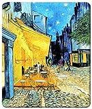 マウスパッド  フィンセント・ファン・ゴッホ『夜のカフェテラス』 (抗菌性・静電特性に優れています。)