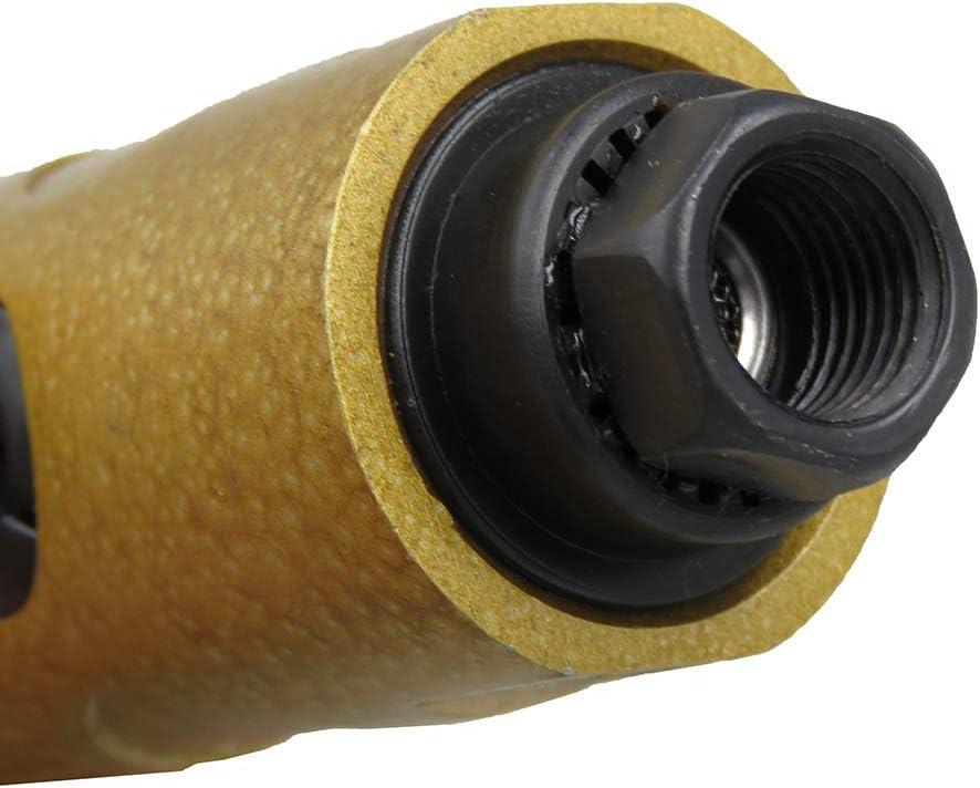 Amoladora neum/ática KP-620 Amoladora neum/ática 1//4 pulgada Herramienta neum/ática Amoladora angular Amoladora angular de aire Destornillador neum/ático Baugger
