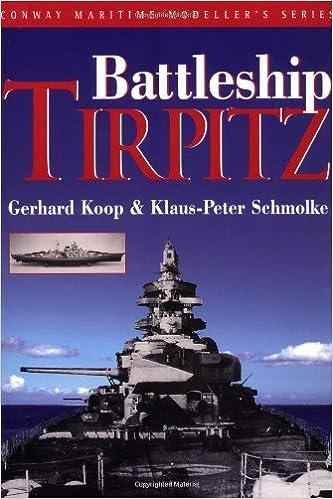 Book The Battleship Tirpitz (Conway Maritime Modeller's)