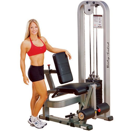 Body Solid Pro Club Line SLE200G2 Leg Extension with 210-Pound Weight Stack