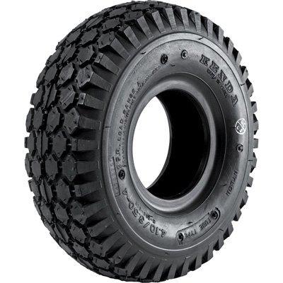 Kenda Studded Tread Replacement Tire for Pneumatic Assemblies - 410/350-4 Kenda Tires