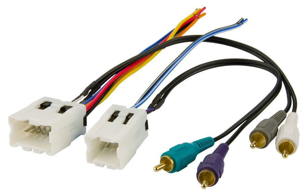 51UyqftfnlL._SL1000_ amazon com bose stereo wire harness nissan maxima 2000 2001 2002 Chevy Equinox Stereo Wiring at gsmx.co