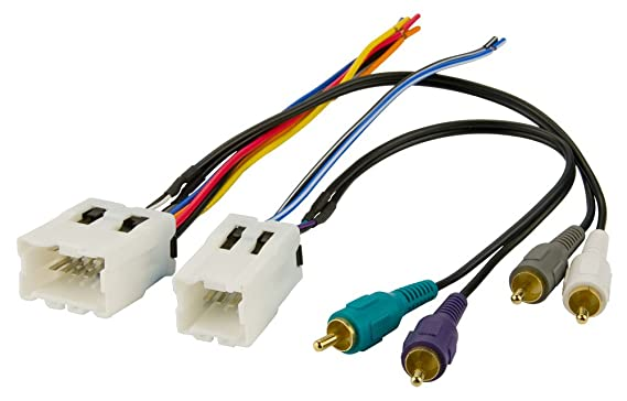Amazon Bose Stereo Wire Harness Nissan Pathfinder 2001 2002 2003 2004 01 02 03 04 Car Radio Wiring Installation Parts Automotive: 1999 Nissan Pathfinder Bose Stereo Wiring Diagram At Jornalmilenio.com