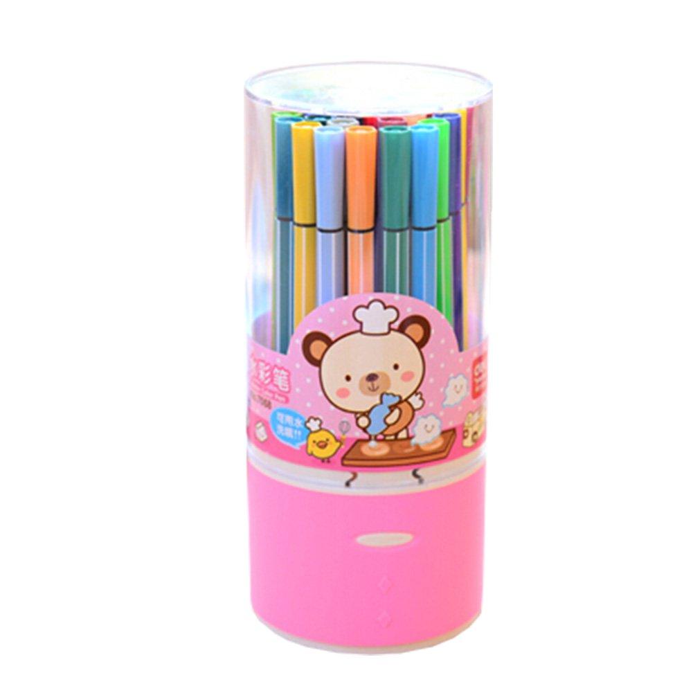 Set of 36 Color Pen Colour Marker Fine Point Mark Pen Color Set, Colorful NO.5 Kylin Express