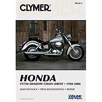 2001 honda shadow sabre 1100 clymer manual