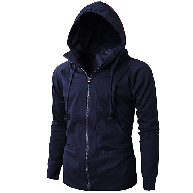 Amazon.com: Mens Coat, FORUU Fashion Autumn Winter Long Sleeve Sport Zipper Hoodie Pullover Blouse Tops: Clothing