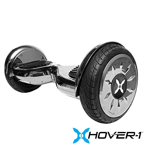 Hover-1 Titan Electric Self Balancing Hoverboard with LED Lights and App Connectivity, Gun Metal