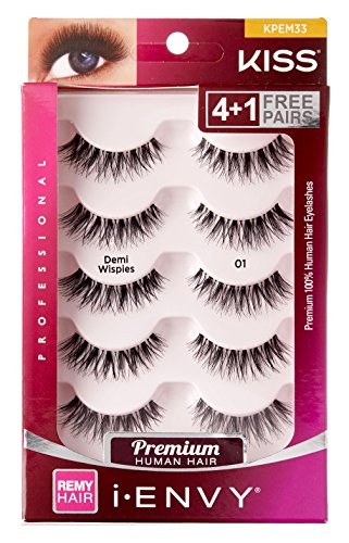Kiss I Envy Beyond Naturale 01 Lashes Demi Wispies Value Pack (Eyelashes Kiss)