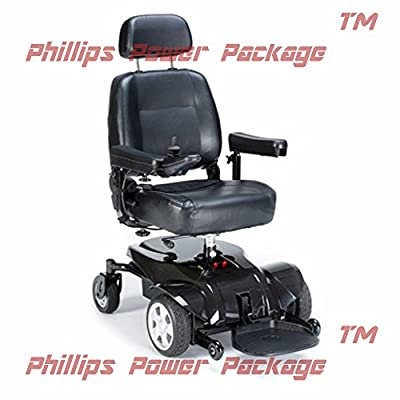 """Invacare - Pronto 31 - Power Wheelchair - 18""""W x 18""""D Seat - Black - PHILLIPS POWER PACKAGE TM - TO $500 VALUE"""