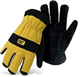 Best Caterpillar Leather Gloves - CAT CATO12222L Caterpillar Work Glove Review