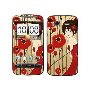 Diabloskinz B 0065-0006-0001 Poppy Skin para HTC Desire S