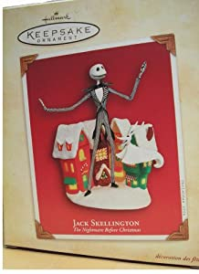 Amazon.com: Jack Skellington Nightmare Before Christmas Hallmark ...