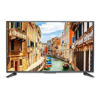 "SCEPTRE 50"" 4K UHD Ultra Slim LED TV 3840x2160 Memc 120, Metal Black 2019 (U518CV-UMS)"