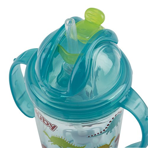 Dinosaurs Aqua Nuby Tritan Grip N Sip Sippy Cup