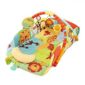 Bright Starts Baby's Play Place Playmat, Swingin' Safari (Discontinued by Manufacturer)