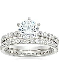 Sterling Silver Swarovski Zirconia Ring