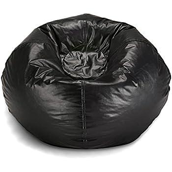 Amazon Com Bean Bag Chair Medium Standard Vinyl Cozy