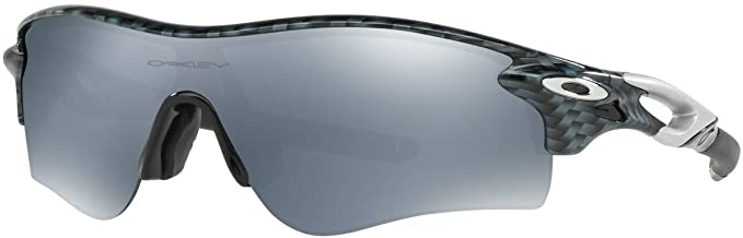 0527670e276 Oakley Men's Radarlock Path (a) Non-Polarized Iridium Wrap Sunglasses,  CARBON FIBER