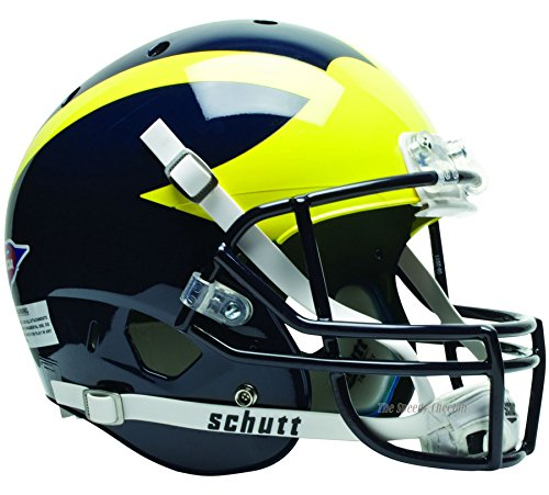 - Michigan Wolverines Officially Licensed Full Size XP Replica Football Helmet