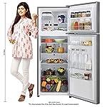 LG 308 L 2 Star Inverter Wi-Fi Frost-Free Double Door Refrigerator (GL-C322KPZY, Shiny Steel)