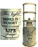 Memorial LIGHT Loss of Life Shines In Memory Heaven Gift Top in Heaven Remembering Child or Loved One