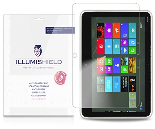 Dell XPS 12 Screen Protector (XPSD12-6067ALU)[2-Pack], iLLumiShield - Japanese Ultra Clear HD Film with Anti-Bubble and Anti-Fingerprint - Protector Screen Xps 12