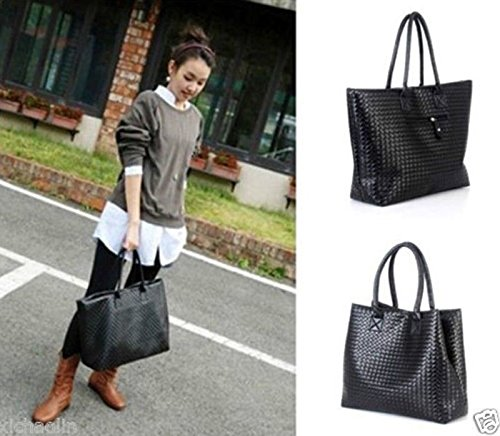 Fashion Women PU Leather Messenger Hobo Handbag Shoulder Bag Lady Tote Purse, Perfect for holding cash, bills, cards.
