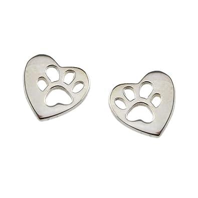 Mimi + Marge Studded heart earrings U4mi7
