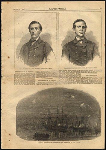 Lt Samuel W Preston Benjamin Porter By Mathew Brady   Porter Fleet Harpers 1865