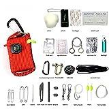 29種類 サバイバルツール アウトドア サバイバルセット 万能 サバイバルキット 応急処置 旅行/アウトドア/登山/ 携帯・収納便利  6色選択可能