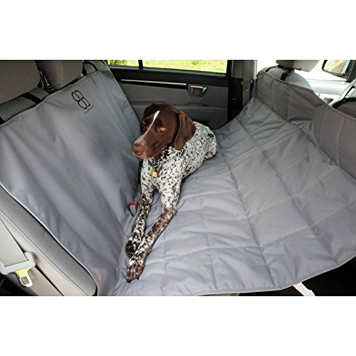 Motor Trend by Petego Hammock Car Seat Protector for Pets, Gray, X-Large by Petego