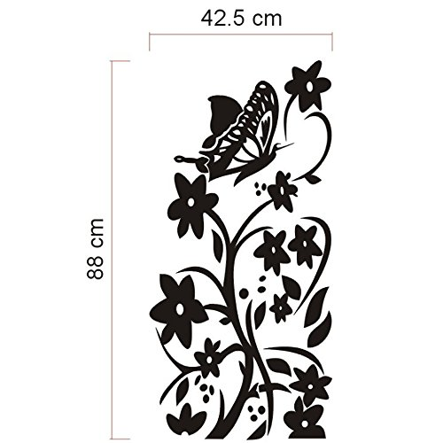 [Flower Stickers XL Vine Wall Decals For Refrigerator, Icebox, Fridge, Freezer, Furniture Or Cabinets, 20 X] (Animal That Starts With The Letter N)