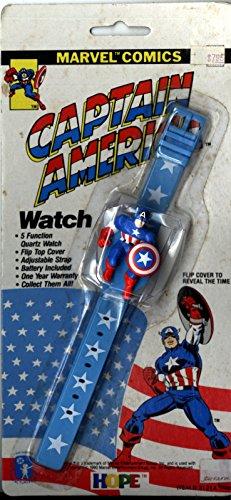 1990 Marvel Comics Captain America Watch -