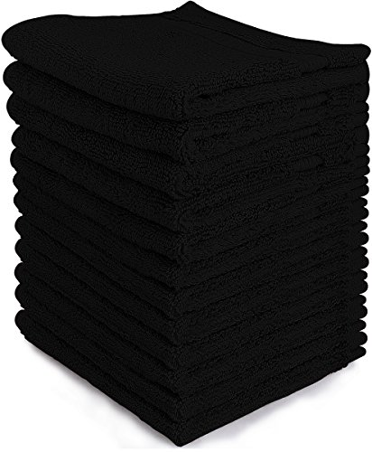 Luxury Cotton Washcloths 12 Pack Inches product image